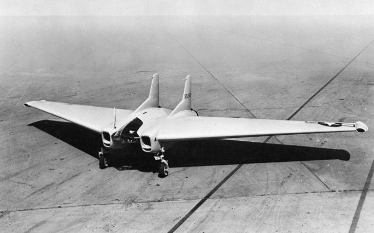 Proudový letoun XP-79: Navržen k ničení nepřátel taranem, nešťastná událost však projekt nadobro pohřbila