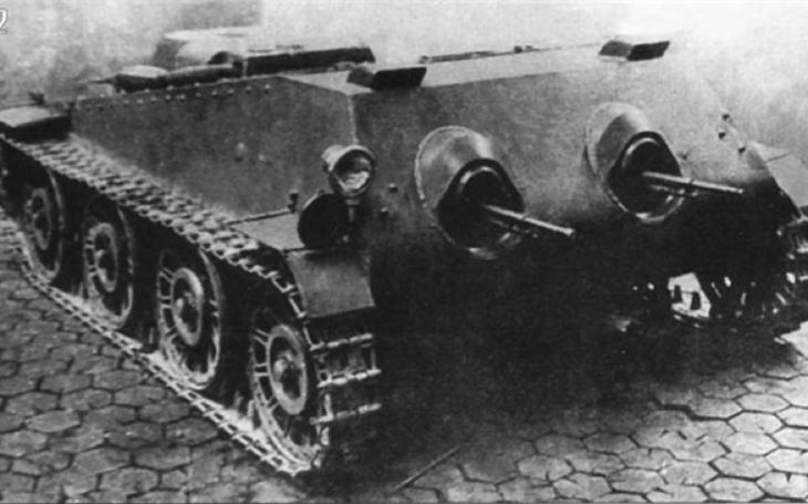 Mobilní kulometné hnízdo mělo pomoci sovětským agresorům v boji proti Finům