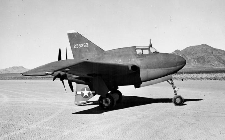 Experimentální letoun XP-56 Black Bullet: Radikální konstrukce bez ocasní části se minula účinkem