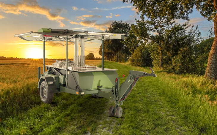 Agados představuje další model z rodiny mobilních polních kuchyní