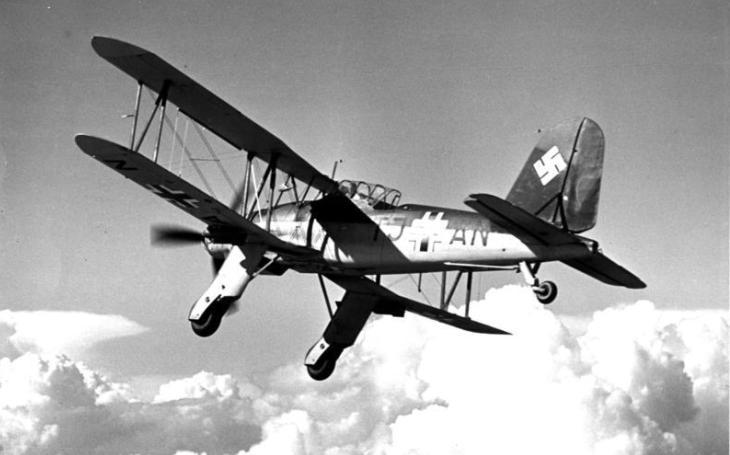 Fieseler Fi 167 - Měl vzlétávat z letadlových lodí, které nebyly nikdy dokončeny