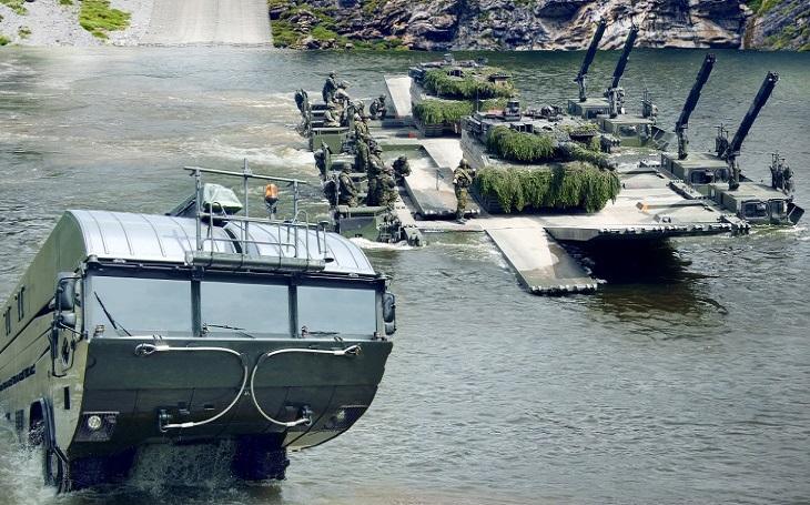 General Dynamics European Land Systems bude dodávat  obojživelný mostní a trajektový systém do Lotyšska