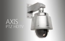 Kopulové PTZ HDTV kamery Axis v nerezu a s dusíkem