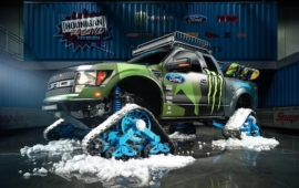 Video: Ford F-150 Raptortrax Kena Blocka