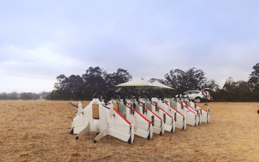 GOOGLE testuje robotické drony na doručování zásilek